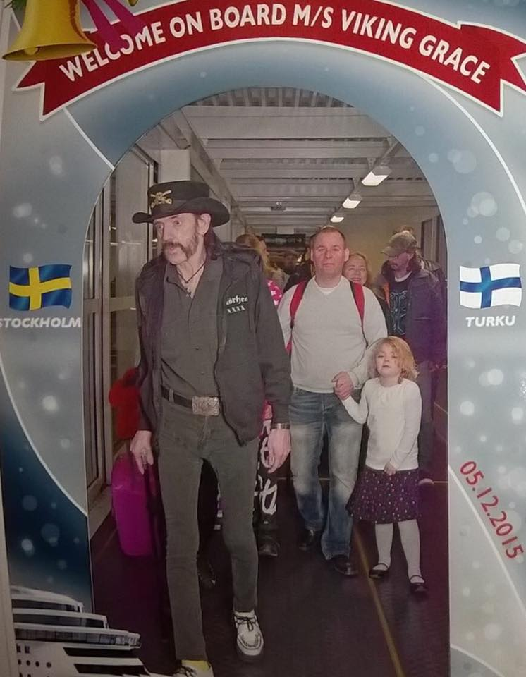Lemmy Viking Gracella.